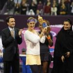 Serena Williams et Victoria Azarenka… à Doha en Février