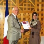 Ambassade de France : cérémonie d'accueil de la nationalité française