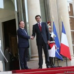 Achèvement de la visite officielle de l'Émir du Qatar en France