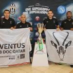 La Super Coupe d'Italie à Doha