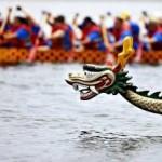 Premier festival de  bateaux–dragons au Qatar