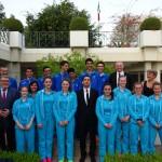 Les jeunes espoirs du tennis jouent au Qatar