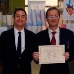 Thierry Peltreau entre dans l'Ordre des Palmes Académiques