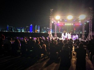 Jazz in the park doha