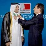 SE Abdulla bin Ali Al-Thani élevé au rang de Commandeur