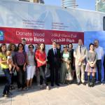 Succès de la 2nde campagne de don du sang à la résidence de France