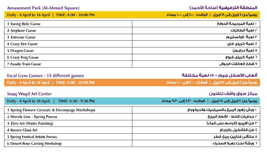 programme souq waqif