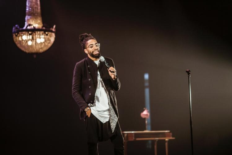 Fary en concert à Doha