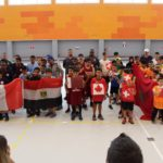 Pour les journées de la francophonie, l'École suisse internationale a accueilli un tournoi de mini-basket