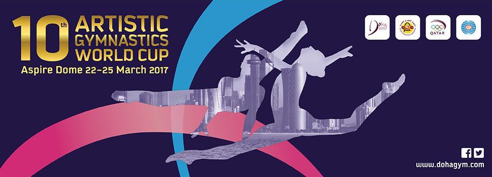 championnat gymnastique artistique Doha