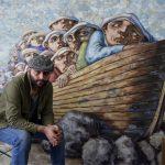L'artiste Houmam Al Sayed brise le poids du silence à Anima Gallery