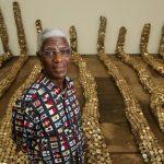 El Anatsui, artiste majeur de l'art contemporain, expose au Mathaf