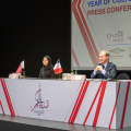 photo de la conférence de presse Qatar France 2020 Year of Culture