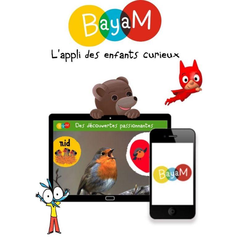 Visuel application Bayam